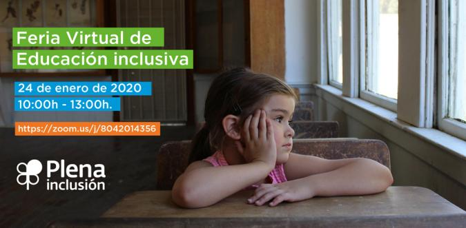 1ª Feria Virtual de Educación inclusiva – 24 Enero 2020